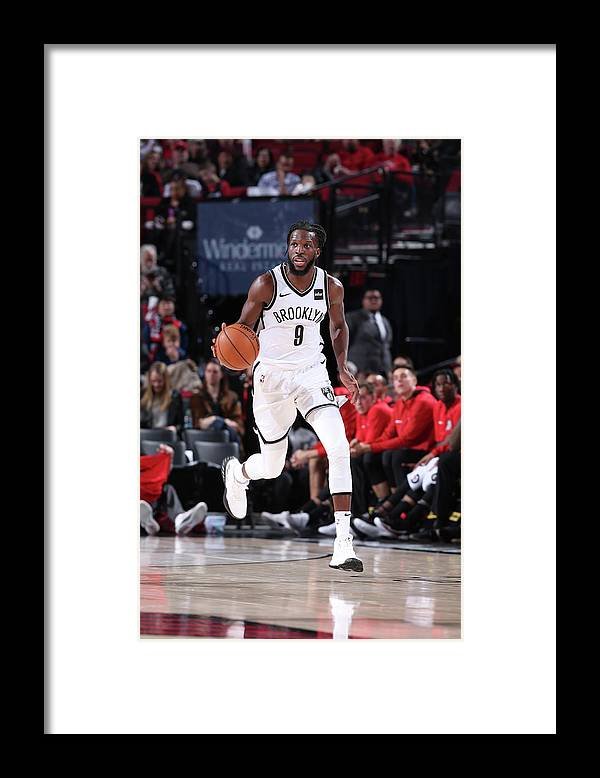 Nba Pro Basketball Framed Print featuring the photograph Demarre Carroll by Sam Forencich