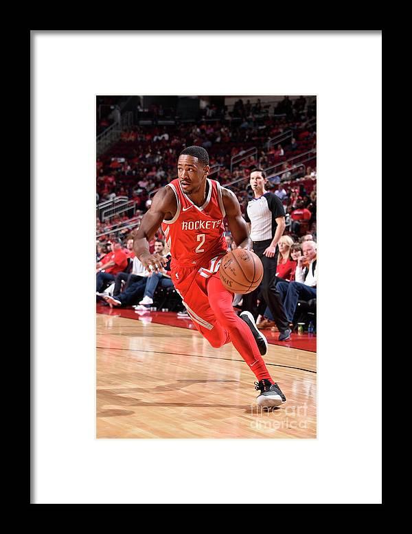 Nba Pro Basketball Framed Print featuring the photograph Demetrius Jackson by Bill Baptist
