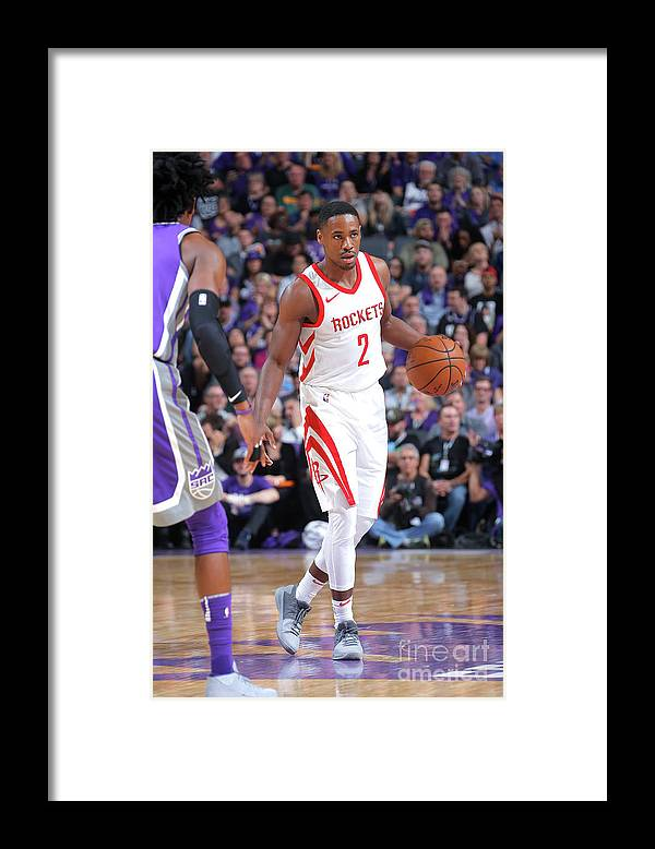 Nba Pro Basketball Framed Print featuring the photograph Demetrius Jackson by Rocky Widner