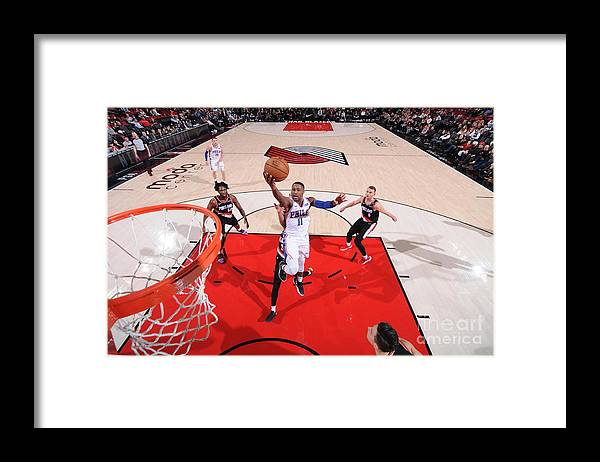 Nba Pro Basketball Framed Print featuring the photograph Demetrius Jackson by Sam Forencich