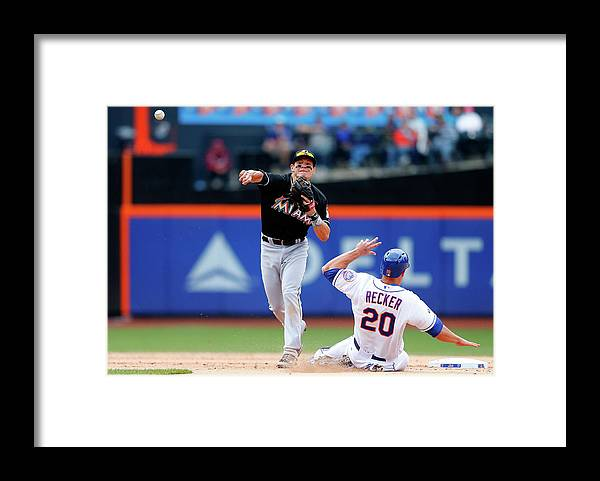 Double Play Framed Print featuring the photograph Derek Dietrich by Jim Mcisaac