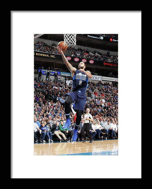 Nba Pro Basketball Framed Print featuring the photograph Deron Williams by Danny Bollinger