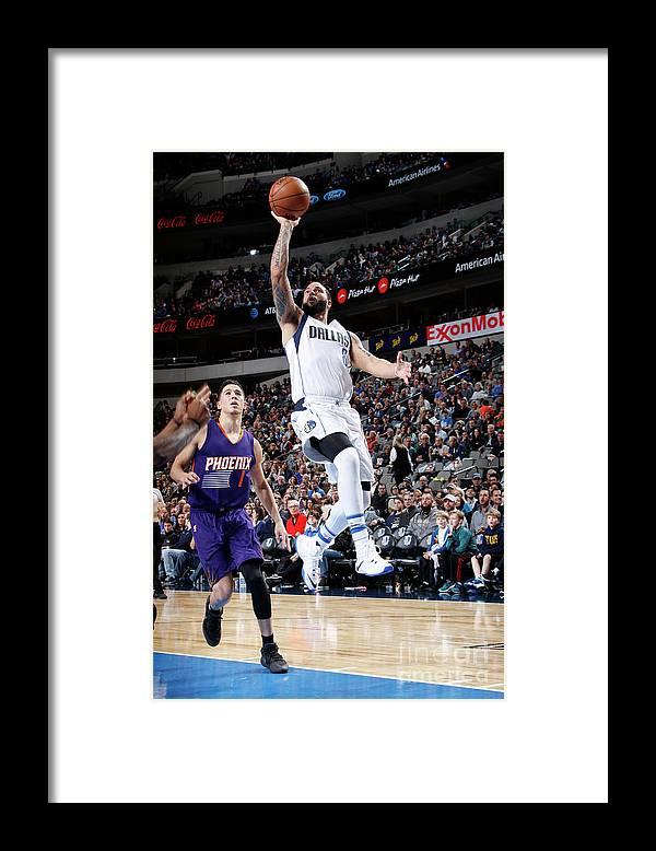 Nba Pro Basketball Framed Print featuring the photograph Deron Williams by Glenn James