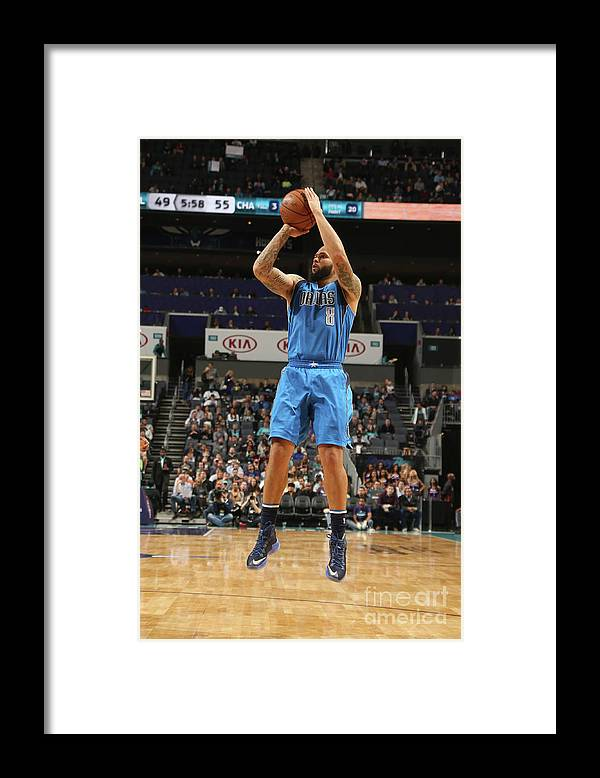 Nba Pro Basketball Framed Print featuring the photograph Deron Williams by Kent Smith