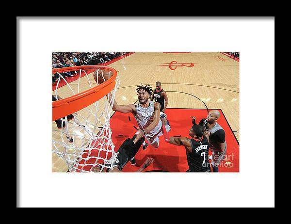 Playoffs Framed Print featuring the photograph Derrick Rose by Bill Baptist