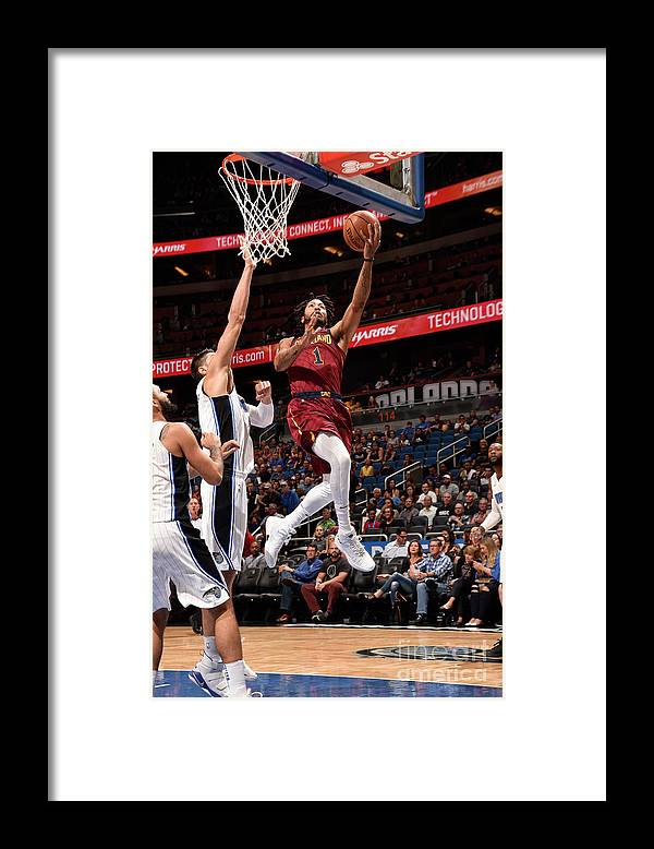 Nba Pro Basketball Framed Print featuring the photograph Derrick Rose by Gary Bassing