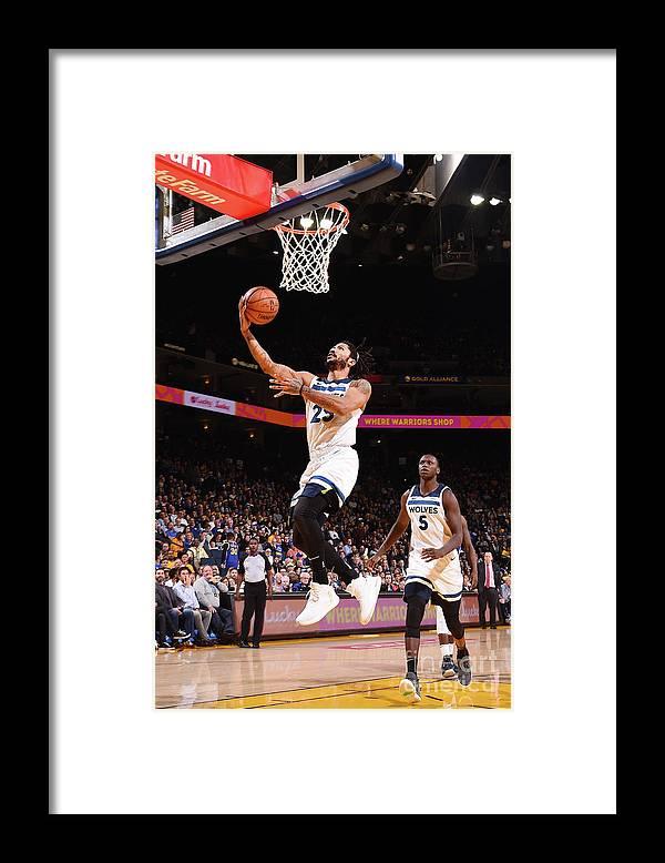 Nba Pro Basketball Framed Print featuring the photograph Derrick Rose by Noah Graham