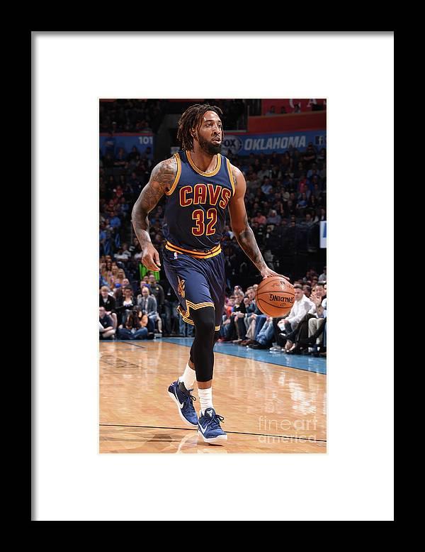 Nba Pro Basketball Framed Print featuring the photograph Derrick Williams by Andrew D. Bernstein