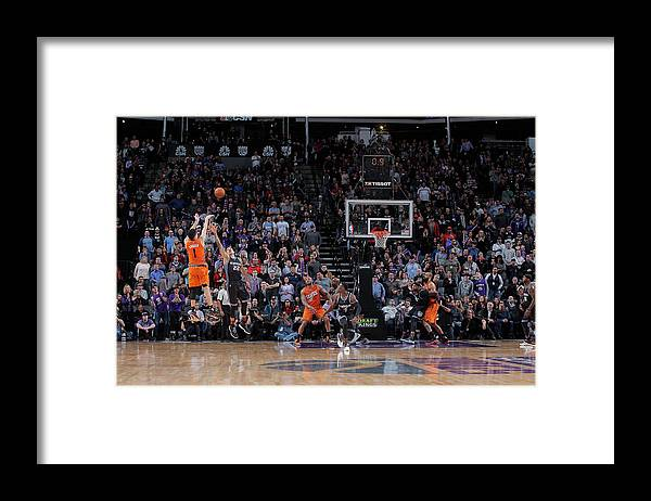 Nba Pro Basketball Framed Print featuring the photograph Devin Booker by Rocky Widner