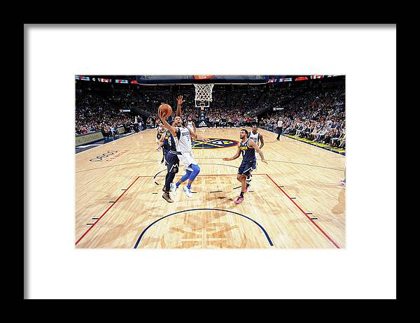 Nba Pro Basketball Framed Print featuring the photograph Devin Harris by Bart Young