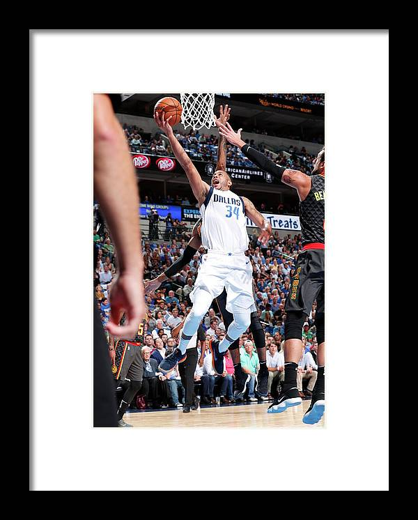 Nba Pro Basketball Framed Print featuring the photograph Devin Harris by Danny Bollinger