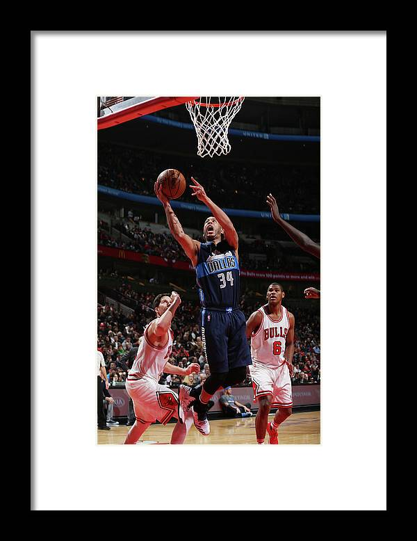 Nba Pro Basketball Framed Print featuring the photograph Devin Harris by Gary Dineen