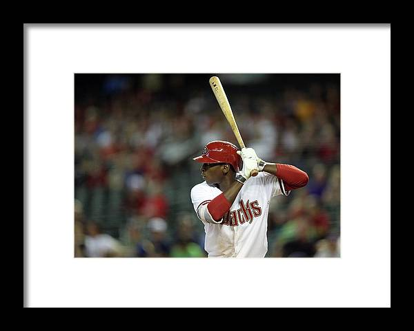 National League Baseball Framed Print featuring the photograph Didi Gregorius by Christian Petersen