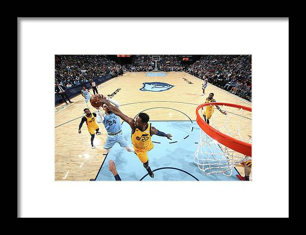 Nba Pro Basketball Framed Print featuring the photograph Dillon Brooks and Jeff Green by Joe Murphy