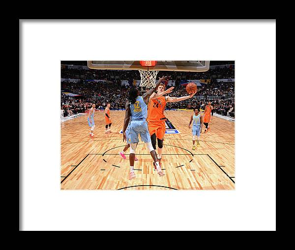 Event Framed Print featuring the photograph Dillon Brooks by Jesse D. Garrabrant