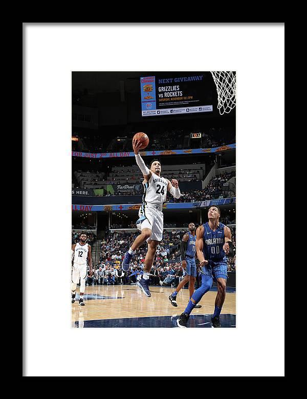 Nba Pro Basketball Framed Print featuring the photograph Dillon Brooks by Joe Murphy