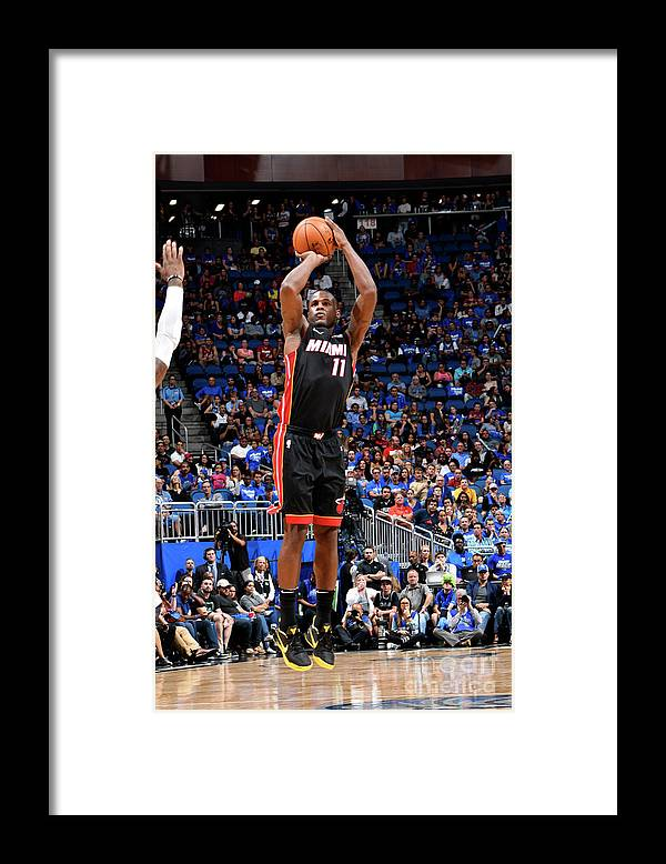 Nba Pro Basketball Framed Print featuring the photograph Dion Waiters by Fernando Medina