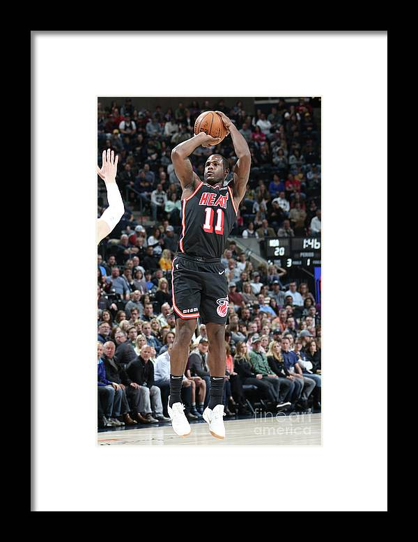 Nba Pro Basketball Framed Print featuring the photograph Dion Waiters by Melissa Majchrzak