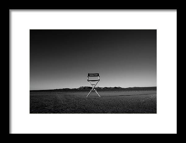 Framed Print featuring the photograph Director's Cut by Brendan North