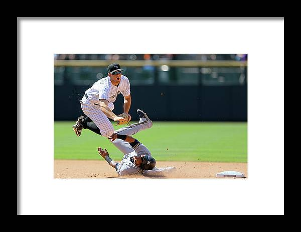 Double Play Framed Print featuring the photograph Dj Lemahieu by Justin Edmonds