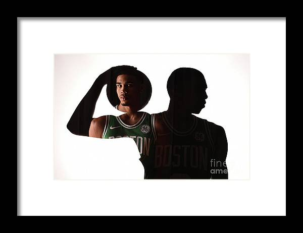 Nba Pro Basketball Framed Print featuring the photograph D.j. Wilson by Brian Babineau
