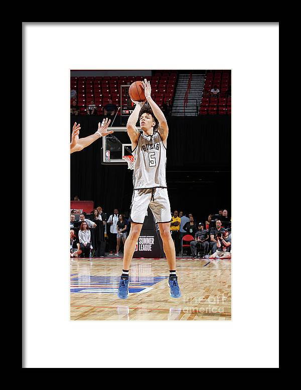 Nba Pro Basketball Framed Print featuring the photograph D.j. Wilson by Jack Arent
