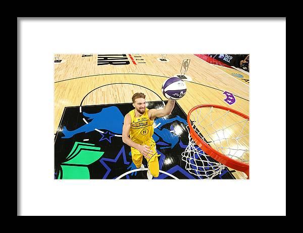 Atlanta Framed Print featuring the photograph Domantas Sabonis by Joe Murphy