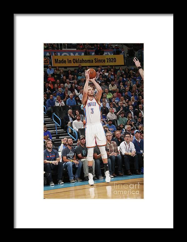 Nba Pro Basketball Framed Print featuring the photograph Domantas Sabonis by Layne Murdoch