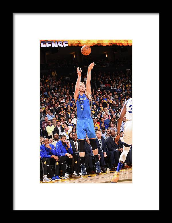 Nba Pro Basketball Framed Print featuring the photograph Domantas Sabonis by Noah Graham