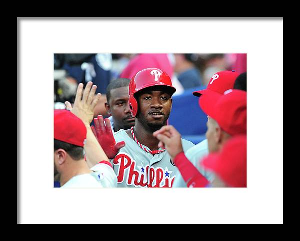 Atlanta Framed Print featuring the photograph Domonic Brown by Scott Cunningham