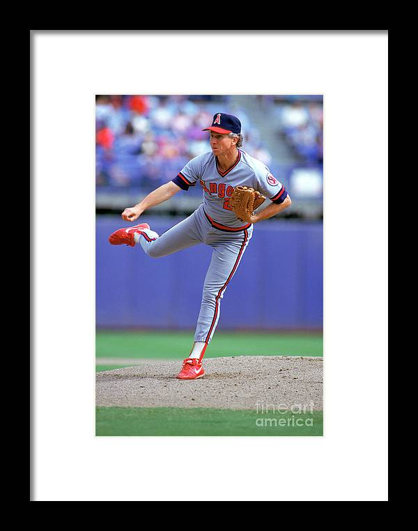 1980-1989 Framed Print featuring the photograph Don Sutton by Louis Deluca