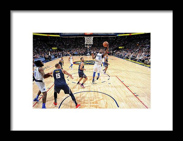 Nba Pro Basketball Framed Print featuring the photograph Dorian Finney-smith by Bart Young