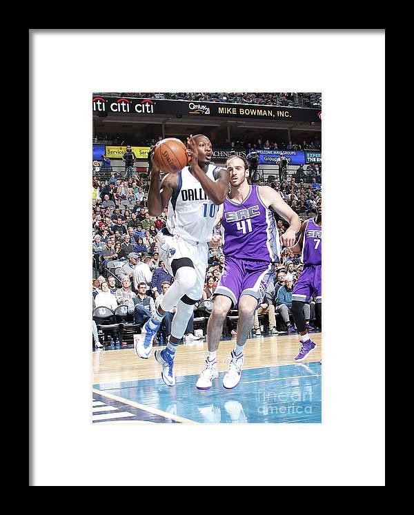 Nba Pro Basketball Framed Print featuring the photograph Dorian Finney-smith by Danny Bollinger