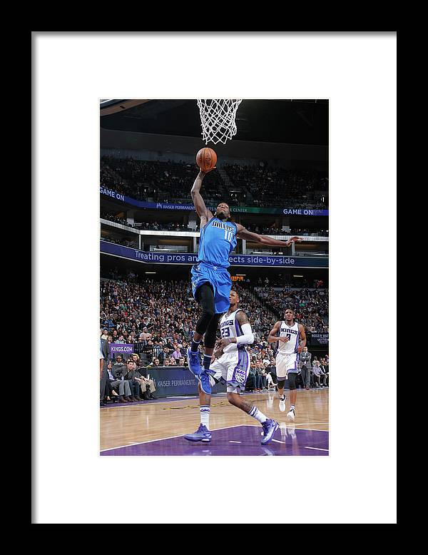 Nba Pro Basketball Framed Print featuring the photograph Dorian Finney-smith by Rocky Widner