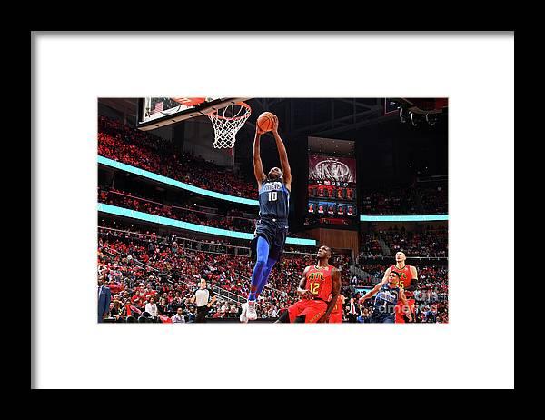 Atlanta Framed Print featuring the photograph Dorian Finney-smith by Scott Cunningham