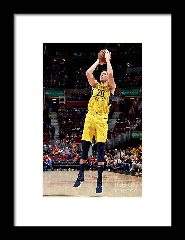 Nba Pro Basketball Framed Print featuring the photograph Doug Mcdermott by David Liam Kyle