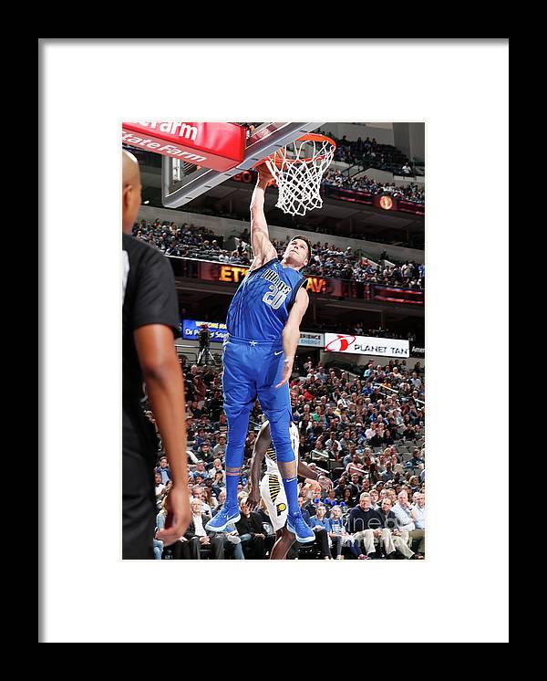 Nba Pro Basketball Framed Print featuring the photograph Doug Mcdermott by Glenn James