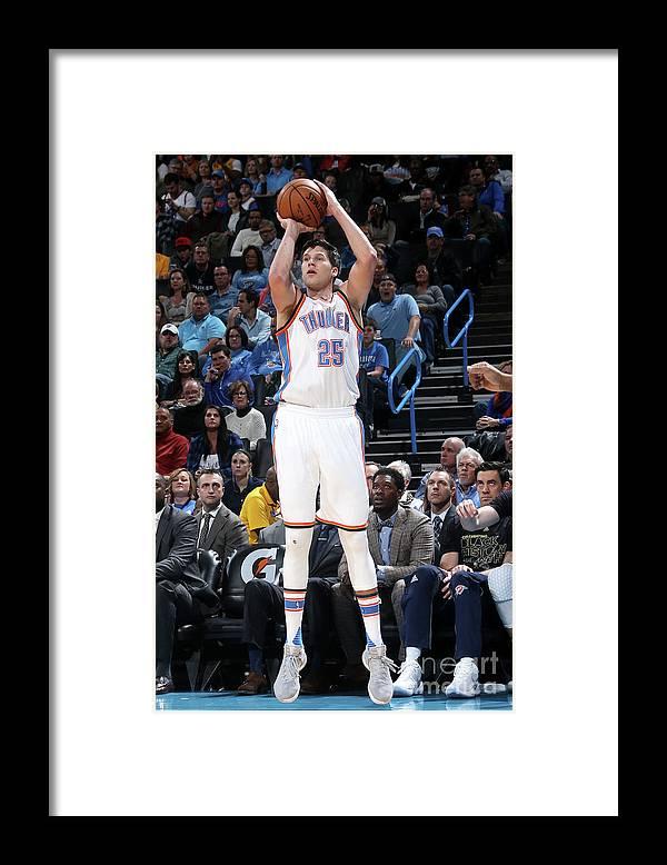 Nba Pro Basketball Framed Print featuring the photograph Doug Mcdermott by Layne Murdoch