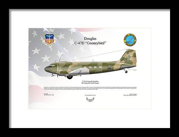 Douglas C-47D Gonneybird by Arthur Eggers