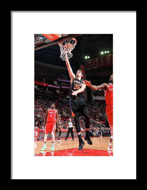 Nba Pro Basketball Framed Print featuring the photograph Dragan Bender by Bill Baptist