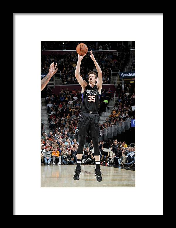 Nba Pro Basketball Framed Print featuring the photograph Dragan Bender by David Liam Kyle