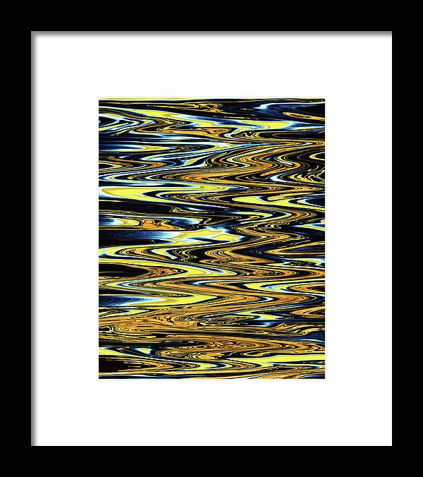Abstract Framed Print featuring the digital art Dream Magician by Jack Entropy