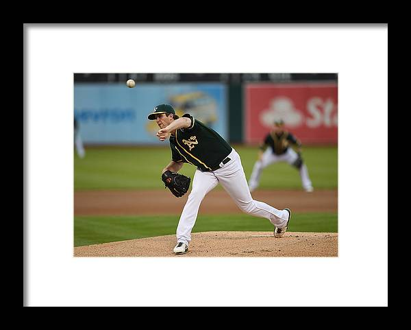 American League Baseball Framed Print featuring the photograph Drew Pomeranz by Thearon W. Henderson