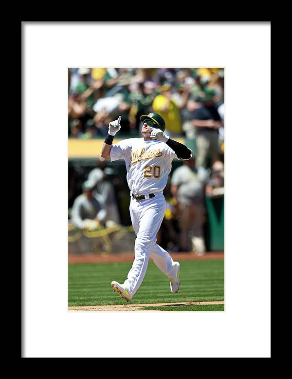 American League Baseball Framed Print featuring the photograph Drew Smyly and Josh Donaldson by Jason O. Watson