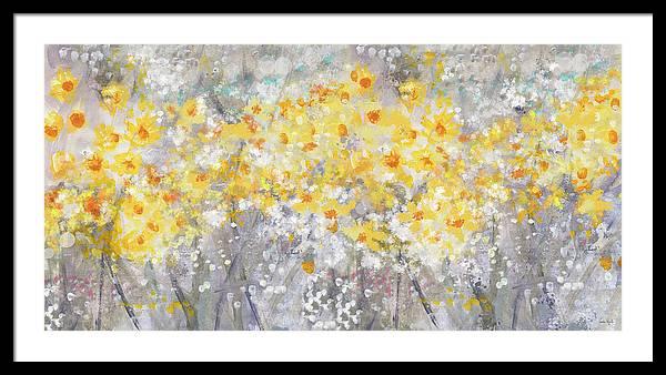 Dusty Miller Landscape- Art by Linda Woods by Linda Woods