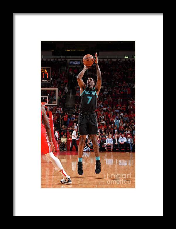 Nba Pro Basketball Framed Print featuring the photograph Dwayne Bacon by Bill Baptist