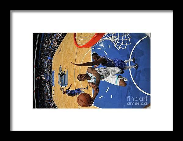Nba Pro Basketball Framed Print featuring the photograph Dwayne Bacon by Fernando Medina