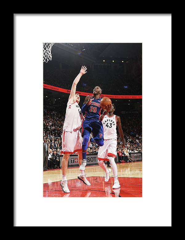 Nba Pro Basketball Framed Print featuring the photograph Dwight Buycks by Ron Turenne
