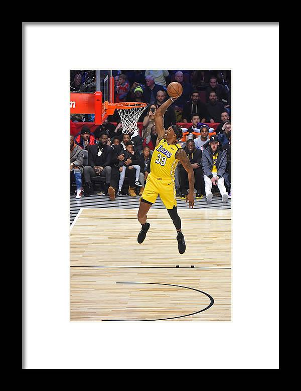 Nba Pro Basketball Framed Print featuring the photograph Dwight Howard by Bill Baptist