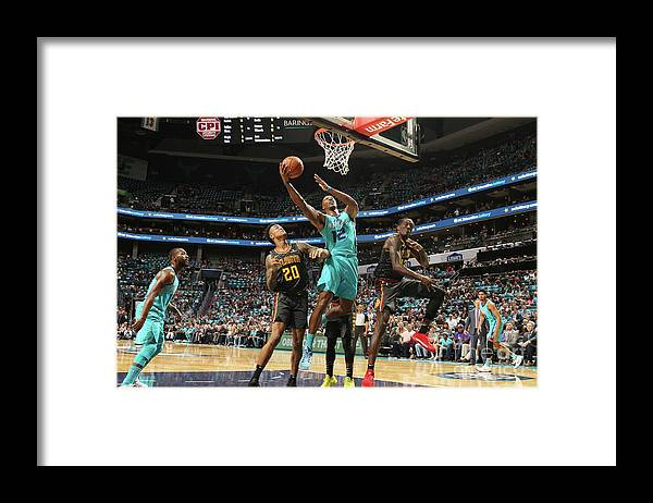 Nba Pro Basketball Framed Print featuring the photograph Dwight Howard by Brock Williams-smith